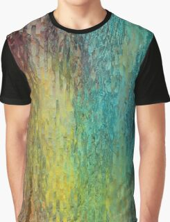 Colorful bark background Graphic T-Shirt