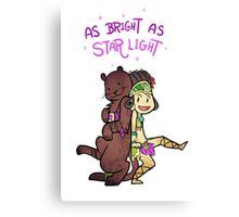 Smite - As Bright as Starlight (Chibi) Canvas Print