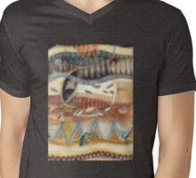 Tropical Fusions (Panel 2 of 4) Mens V-Neck T-Shirt