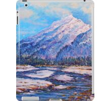 Majestic Peak - impressionism iPad Case/Skin