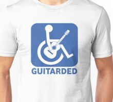 Funny Guitarded Sign Guitar Shirt Unisex T-Shirt