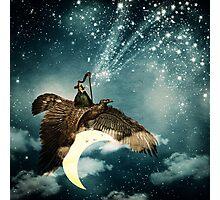 The Night Goddess Photographic Print