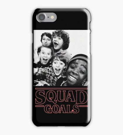 Stranger Things Squad Goals iPhone Case/Skin