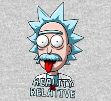 Rick Quote Reality is Relative Women's Fitted Scoop T-Shirt