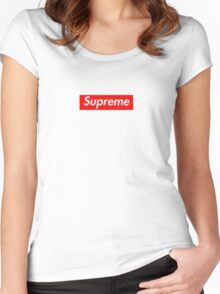 SUPREME | 2016 Women's Fitted Scoop T-Shirt
