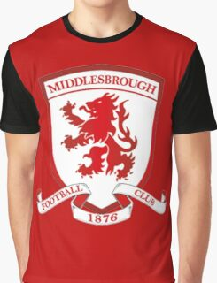 middlesbrough fc 2016 premier Graphic T-Shirt