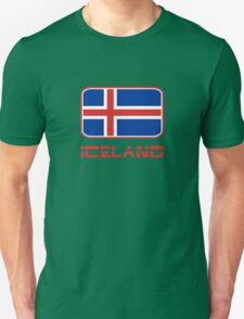 Iceland Flag Design Unisex T-Shirt