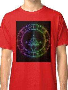 gravity falls Bill cipher wheel coloured Classic T-Shirt