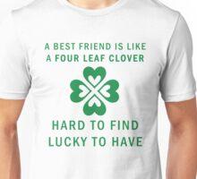 Best Friend Forever Clover BFF Graphic Print Novelty Unisex T-Shirt
