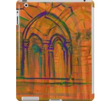 Watercolor sketch with classical window. iPad Case/Skin
