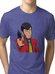 Lupin the Third Tri-blend T-Shirt
