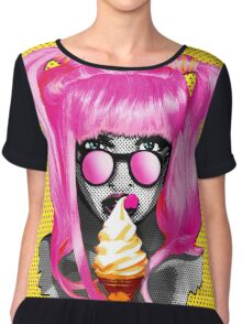 I Scream Chiffon Top