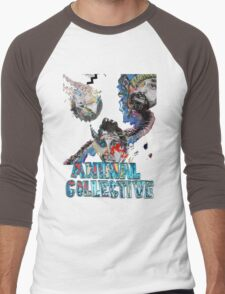 Animal Collective Men's Baseball ¾ T-Shirt
