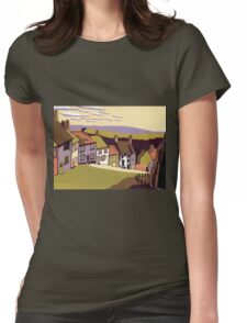 Gold Hill Womens Fitted T-Shirt