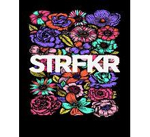 STRFKR flowers Photographic Print
