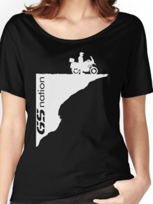 BMW GS R 650 800 1150 1200 Moto Motorrad Boxer Women's Relaxed Fit T-Shirt