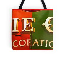 Ancient Signboard Store Tote Bag