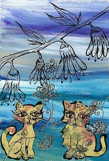 Rosie Kittens by kewzoo