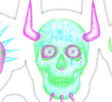 skulls of hate V Sticker