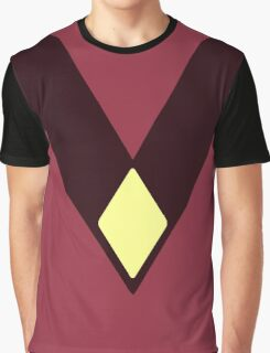 Steven Universe Jasper Diamond Uniform Graphic T-Shirt