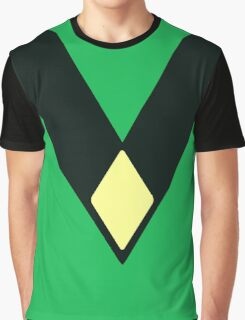 Steven Universe Peridot Diamond Uniform Graphic T-Shirt