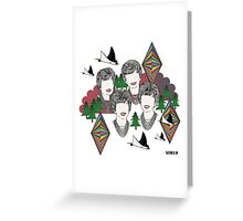 STRFKR  Greeting Card