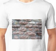 Brick grungy texture Unisex T-Shirt