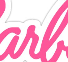 Barbie Text Logo Sticker