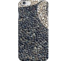Floor texture with colorful decorative pebbles. iPhone Case/Skin