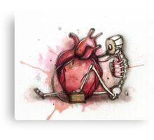 Heart Pumper  Canvas Print