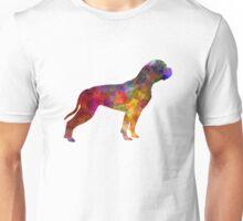 American Bulldog 01 in watercolor Unisex T-Shirt