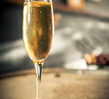 Bubbly Champagne by Silken Photography