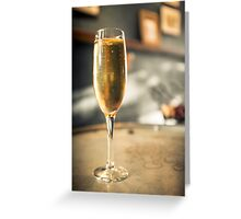 Bubbly Champagne Greeting Card