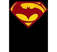Batman Vs Superman : Dawn of Justice(Superman Color) Photographic Print