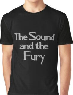 Ian Curtis - The Sound and the Fury Graphic T-Shirt