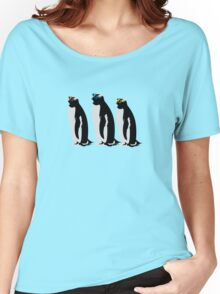 3 Penguins Women's Relaxed Fit T-Shirt