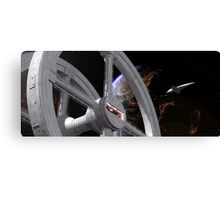 2001: A Space Odyssey - space station Canvas Print