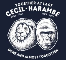 Cecil and Harambe Kids Tee