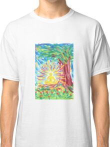 1301 - Meditation under the Tree Classic T-Shirt