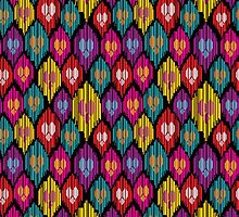 Uzbekistan pattern by kisikoida