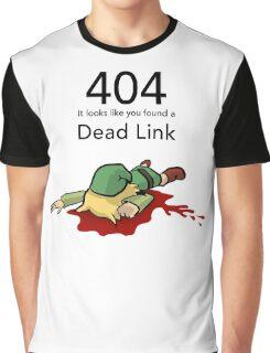 Error 404 Zelda Dead Link Graphic T-Shirt