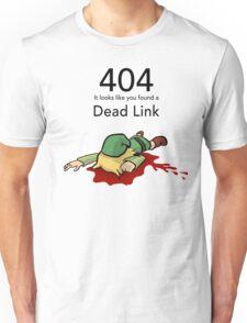 Error 404 Zelda Dead Link Unisex T-Shirt