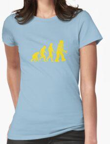Robot Evolution Womens Fitted T-Shirt