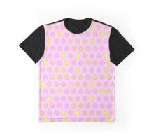 dot pink gold coins Graphic T-Shirt