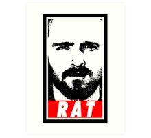 Pinkman - RAT Art Print