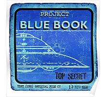 BLUE BOOK Poster
