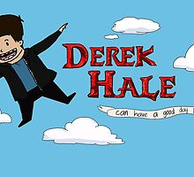 Derek Hale Can Have a Good Day Too by hedgehogunited