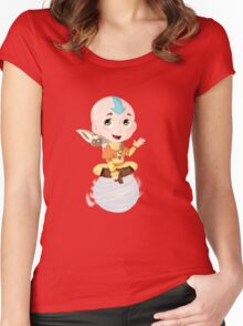 Aang, the last Airbender Women's Fitted Scoop T-Shirt