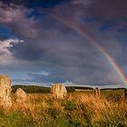 Duddo Stone Circle by Dave Hudspeth