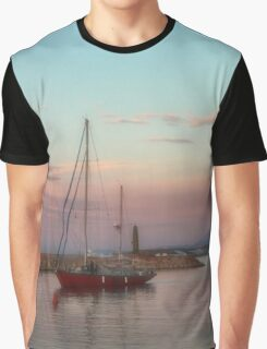 Sailing in the soft sunset Graphic T-Shirt